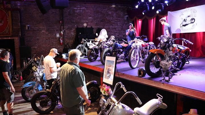 It's set in at the Brooklyn Bowl, a bowling alley in Brooklyn, NY, but its attracts exhibitors from Connecticut. RIDE-CT visited the fifth annual show on Sunday and filed this video report.